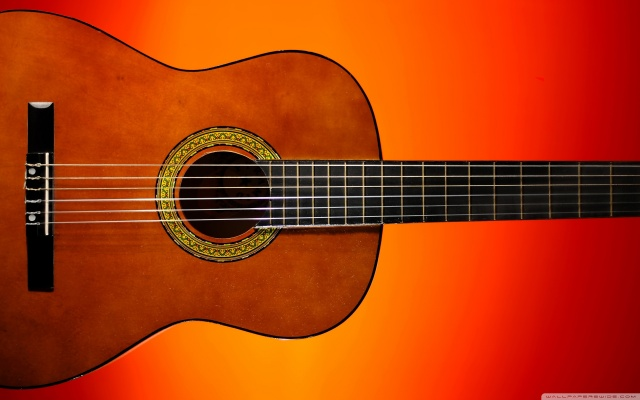 Classical Guitar HD Wallpaper