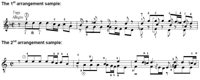 Classical arrangements essay