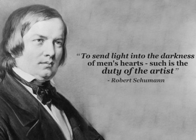 Shumann's Quote